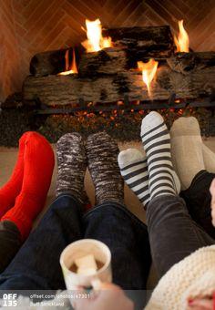 Cozy wintertime. Photo © Buff Strickland / Offset