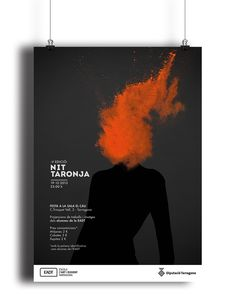 Blanca Castillo on Behance   #poster #layout #explosion #design #graphicdesign #laus #lausaward #barcelona