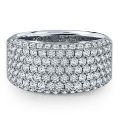 2 ct. tw. Diamond Anniversary Band in 14K Gold - Anniversary Rings - Rings - Jewelry - Categories - Helzberg Diamonds