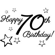 clip art for 70th birthday - Google Search