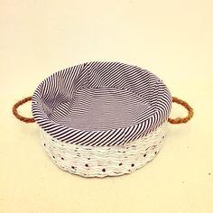 Basket in dots ⚫️⚫️⚫️#awa_in_home#handmade#home