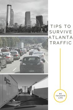Tips for RV driving in Atlanta, Georgia, including best times and best routes for RVers going through Atlanta, as well as other tips to make your RV trip enjoyable. Travel Hack, Rv Travel, Travel Info, Adventure Travel, Places To Travel, Travel Destinations, Travel Tips, Rush Hour, Roadside Attractions