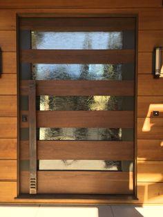 Steel & Wood Pivot Doors | Red Horse Custom Pivot Doors