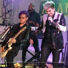 Adam Lambert & Tommy Joe Ratliff <3
