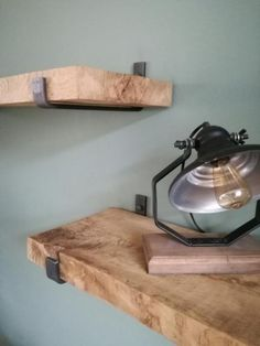≥ Shelf supports industrial - Home accessories Wooden Shelves, Wall Shelves, Book Shelves, Sofas For Small Spaces, Black Interior Design, Studio Interior, Industrial House, Living Room Inspiration, Diy Furniture