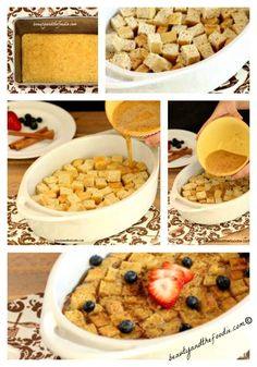 Vanilla Cinnamon French Toast Casserole. Grain free, Paleo and Low Carb. So good!