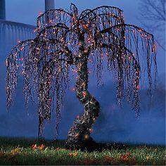 Spooky Halloween Tree | Spooky Halloween Willow Tree