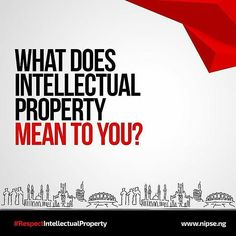 WHAT DOES INTELLECTUAL PROPERTY MEAN TO YOU?  To be part of this campaign send a BOLD PICTURE of yourself (portrait size) and your Intellectual Property statement to team@nipse.ng to get spotted as part of the intellectual property reform.  #IntellectualPropertySummit #RespectIntellectualProperty  #MyEndangeredKind #Lagos #Abuja #Nigeria #Creativity #2016
