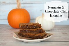 It's a Lovely Life! Travel, Recipes, So Cal Lifestyle, Mom Talk and More Blog | Pumpkin and Chocolate Chip Blondies… Oh my!