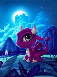 The little Dragon by JuanCharles.deviantart.com on @deviantART