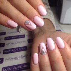 Cool Spring nails 2017 images for your pleasure. Pink Nail Designs, Best Nail Art Designs, Nail Designs Spring, Nails Design, Trendy Nail Art, New Nail Art, Cool Nail Art, Silver Nails, Oval Nails