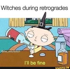 Between full moon ritual work, new moon ritual work, regular schmegular readings, Halloween, Mercury ass deciding to go retrograde ON… Pagan Witch, Wiccan, Magick, Funny Spiritual Memes, Witch Meme, Witch Quotes, Magic Memes, Male Witch, Witchcraft For Beginners