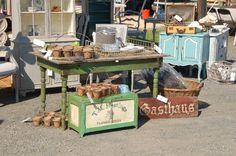 Miss Mustard Seed fair sale.all the best! Antique Fairs, Antique Show, Antique Market, Vintage Market, Antique Booth Displays, Craft Booth Displays, Store Displays, Display Ideas, Market Displays