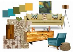 Mid-Century Modern Decorating Colors | mid century modern color palette: mesmerizing moody monday mid century ...