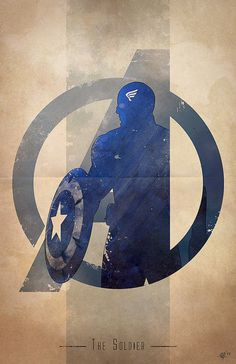 Giclee Art Print 'Avengers Assembled: The Soldier' by Anthony Genuardi (DigitalTheory)