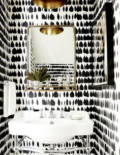 San Francisco Townhouse — Powder Room