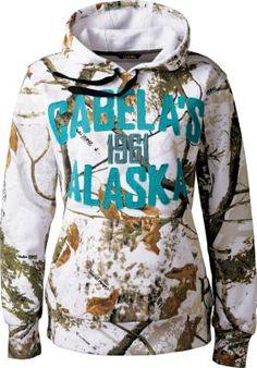 Cabela's Women's Camo Alaska Hoodie