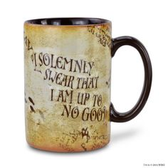Marauders Map Mug | Homeware | Warner Bros Studio Tour London