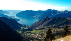 Panoramica di Zone sul Lago d'Iseo