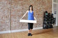 Coach Nicole shows you the ropes (and the benefits) of using foam rollers for fitness--and massage--in three short videos. via @SparkPeople sports medicine, healthcare, soccer sports medicine