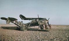 April 1942. Henschel Hs 126 & Fieseler Storch