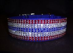 This Patriotic Dog Collar for Jenny
