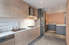 Architology - light wood and grey combination