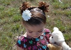 Super cute little girl hair styles
