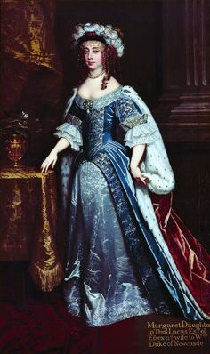 1665 Margaret, Duchess of Newcastle by Sir Peter Lely (location unknown to gogm) From pinterest.com/carolynmcash/british-history/.jpg
