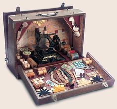 Wall | VK - What an amazing toy sewing machine set!!! -fran