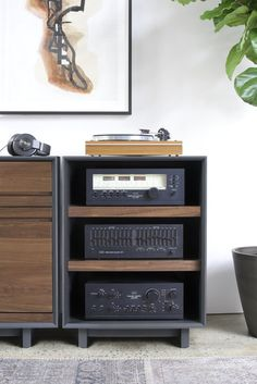 "AERO 25"" Audio Rack"