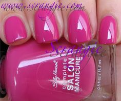 Sally Hansen Complete Salon Manicure Designer Collection for Fall 2011, Courtesan