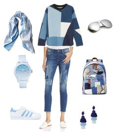 """Untitled #1"" by georgia-nikolaou on Polyvore featuring Victoria, Victoria Beckham, Mavi, adidas, Marc Jacobs, Asprey, Lacoste and Oscar de la Renta"