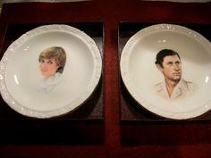 Royal Albert Royal Wedding Plates  Set of 2  by THEPARISBOUTIQUE, $50.00
