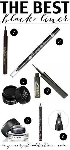 If you are in need of a pretty awesome black eyeliner then look no further.  The Best Black Liner!