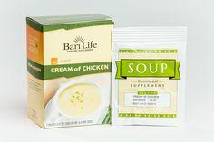 Cream of Chicken Protein Soup - Protein Supplements