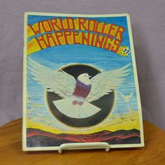 RARE World Roller Happenings Second and Final Issue May/June 1977 Pigeons