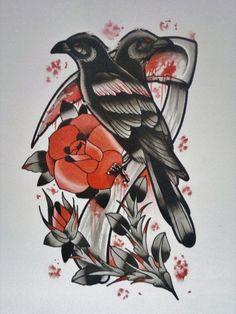Crow & scythe
