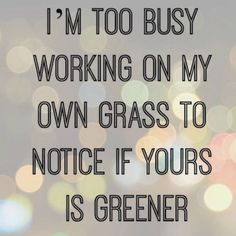 Get Busy and Stay Focused on your Goals!