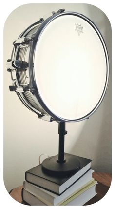 Snare Drum Table Lamp Musical Instrument Light by LitforaQueen on Etsy https://www.etsy.com/listing/263143789/snare-drum-table-lamp-musical-instrument