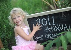 annual whip cream fight :) SO GAME! (I say this now, childless...!)
