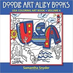 United States Coloring Art Book!  So much fun for teaching geography at school.