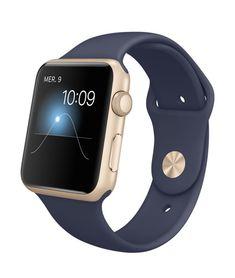 L'Apple Watch Sport est proposée avec des boîtiers en aluminium anodisé argent, gris sidéral, or ou or rose, et plusieurs bracelets. Voir les prix.