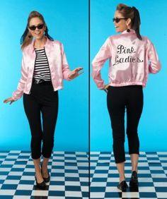 womens pink lady costume