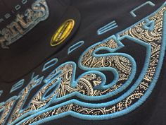Hoodie with matching hat embroidered with black/white paisley appliqué