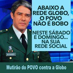 Tweets sobre o marcador #foraglobogolpista no Twitter