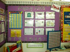 Teacher Bits and Bobs: Math Wall Cards