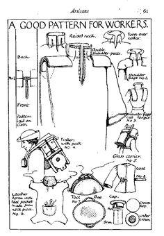 Artisan - costume GN médiéval