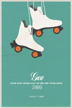 SNSD Gee Minimalist poster