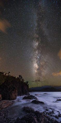 Milky Way, Kauai, Hawaii